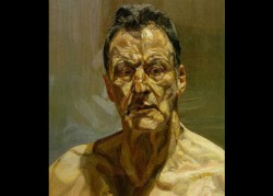 Lucian Freud at the National Portrait Gallery - London -The Anatomy of the Individual